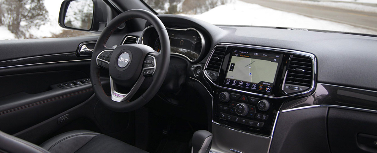 2020 Jeep Grand Cherokee Interior & Exterior Features