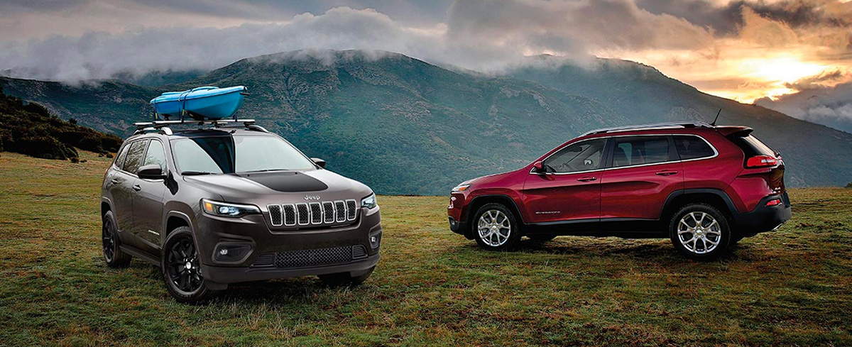 2020 Jeep Cherokee Footer