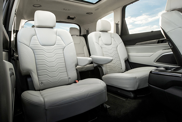 Discover The Kia Telluride Interior