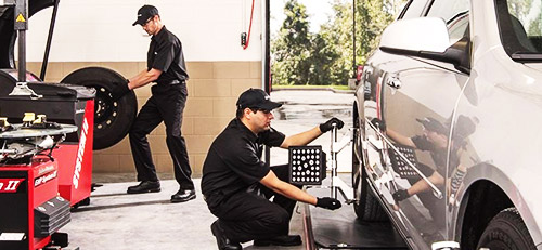 $50 OFF Wheel Alignment
