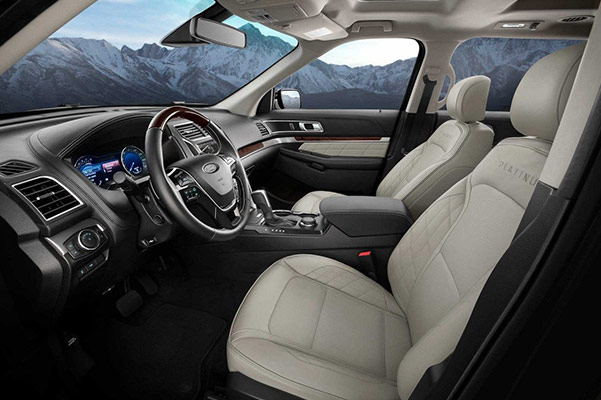 2018 Ford Explorer Interior & Technology