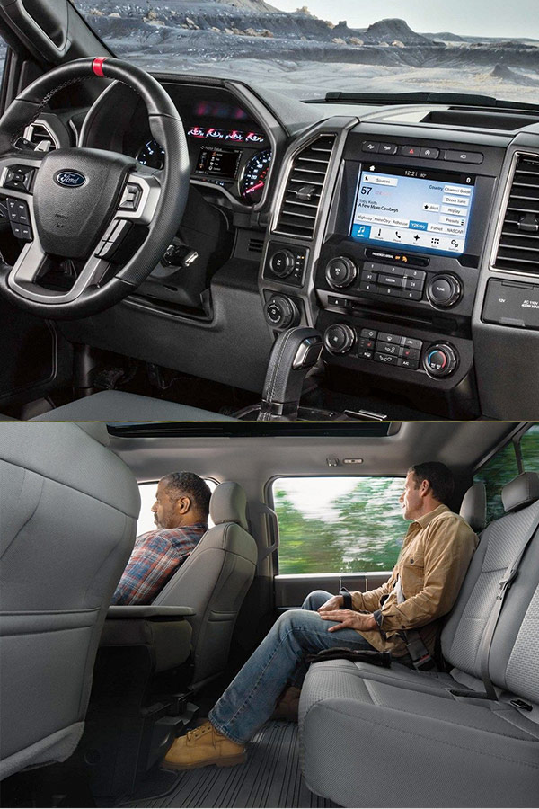 2018 Ford F-150 Interior Features