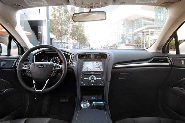 2019 Ford Fusion Interior & Technology Features