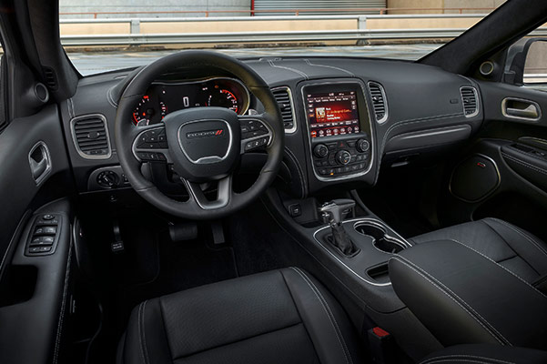 The 2019 Dodge Durango interior