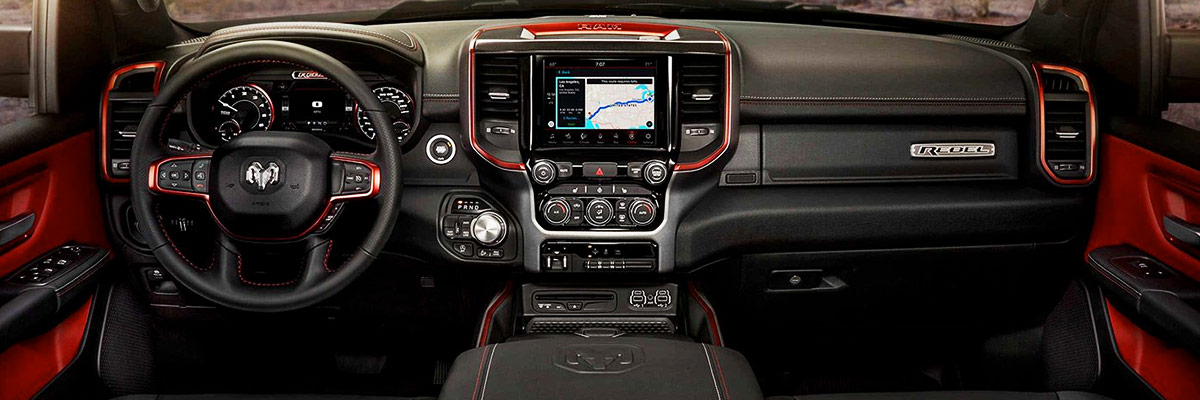 2019 Ram 1500 Interior Features & Technology