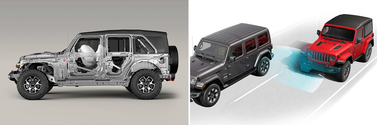 2018 Jeep Wrangler Safety Features