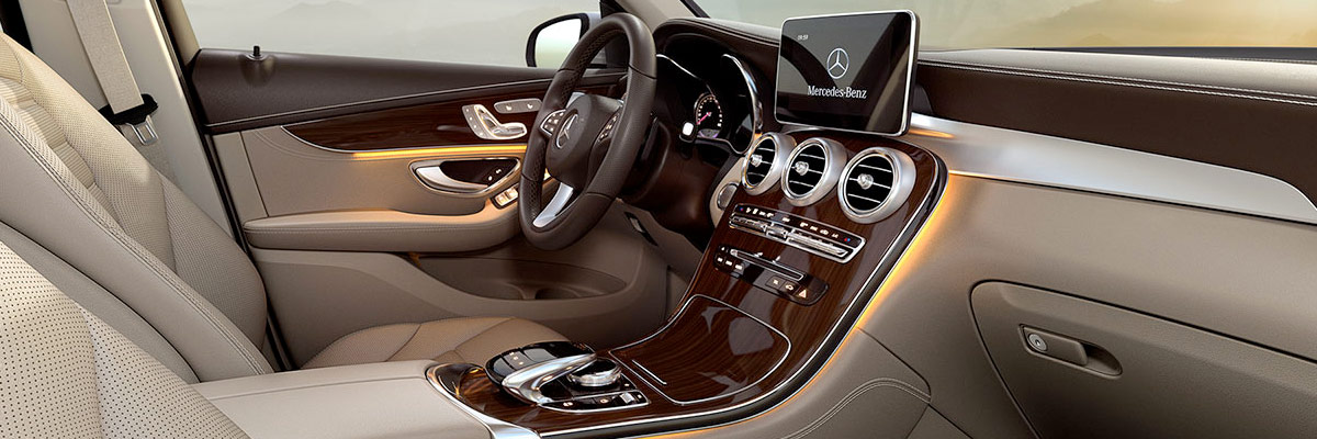 2018 Mercedes-Benz GLC Interior & Technology