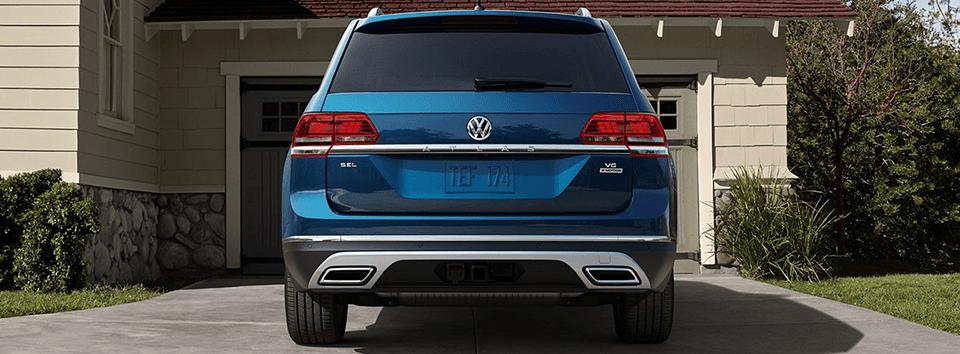 2018 Volkswagen Atlas - rear view