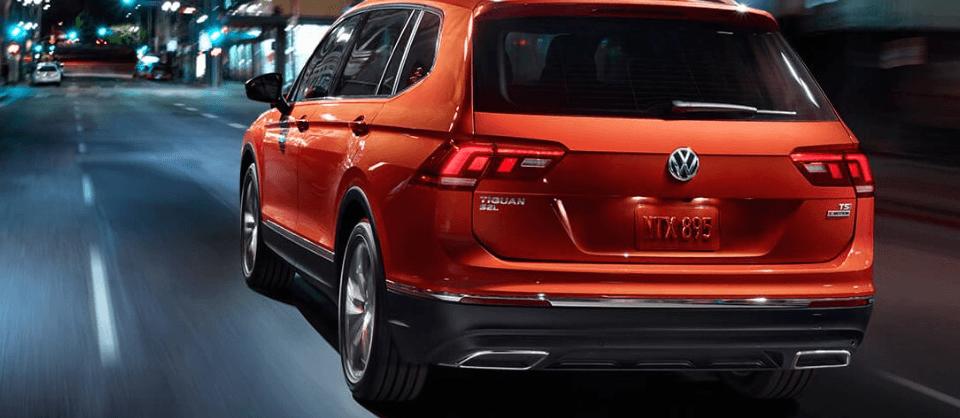 2018 Volkswagen Tiguan - rear view