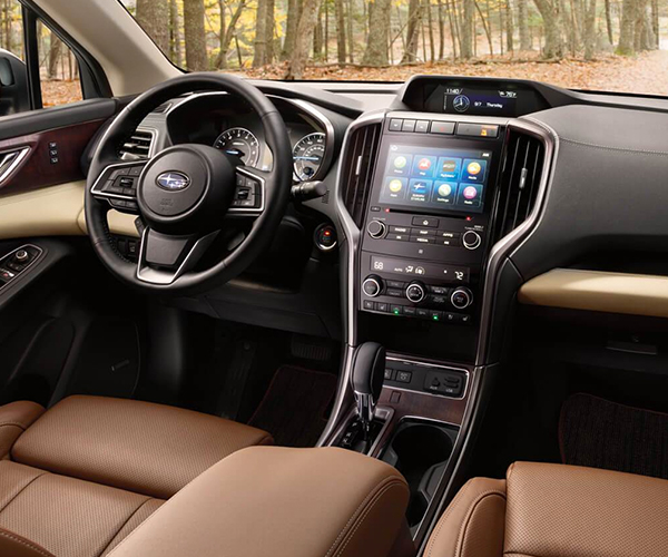 2019 Subaru Ascent Limited interior white leather