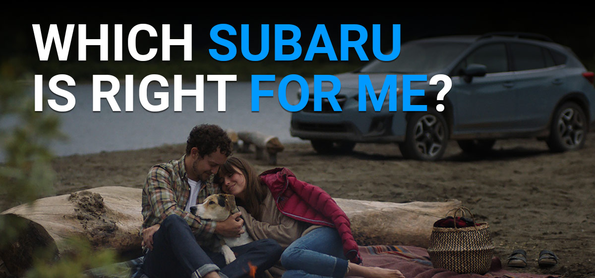 which subaru is right for me?