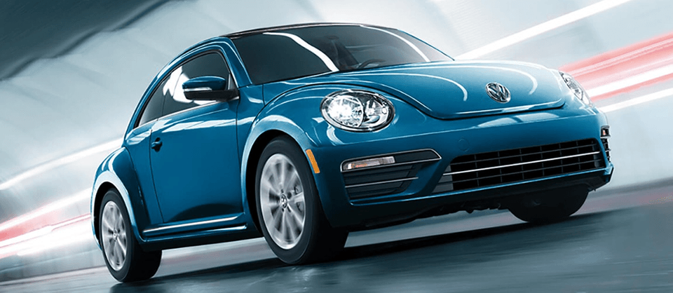2018 Volkswagen Beetle in blue