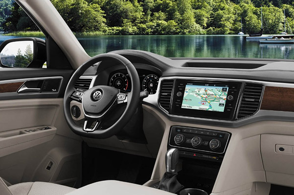 2019 Volkswagen Atlas Interior Features & Technologies