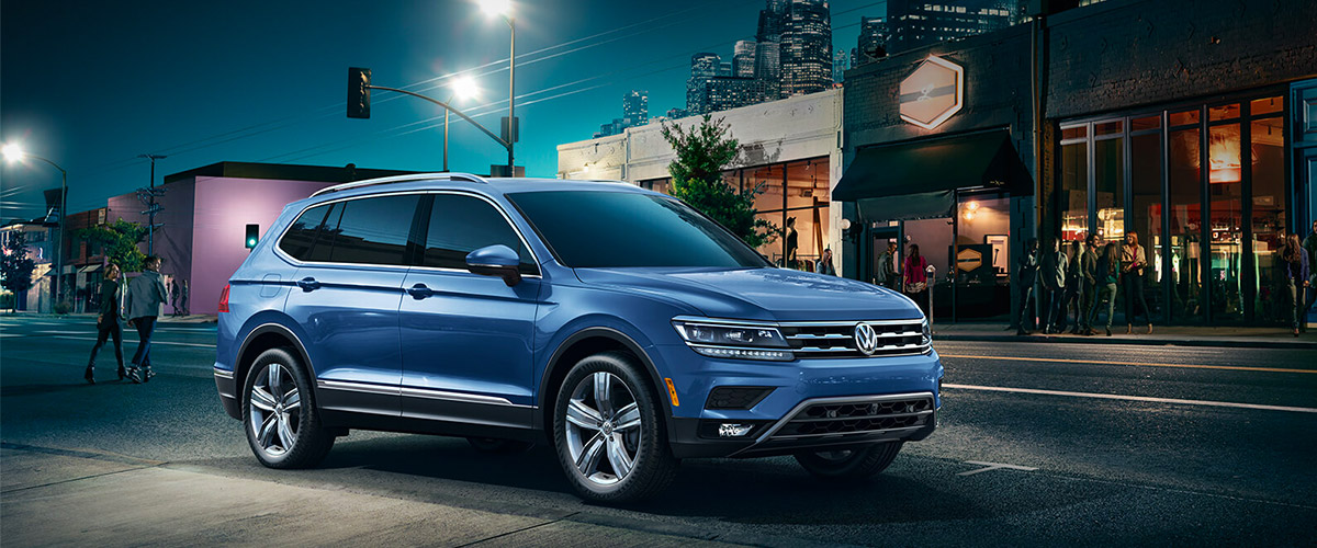 The New 2019 Volkswagen Tiguan Header