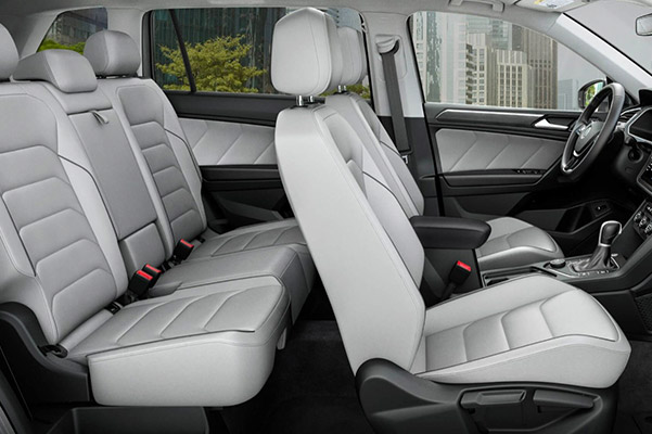 2019 Volkswagen Tiguan Interior Features & Technologies