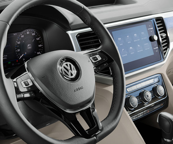 The 2019 Volkswagen Atlas Interior