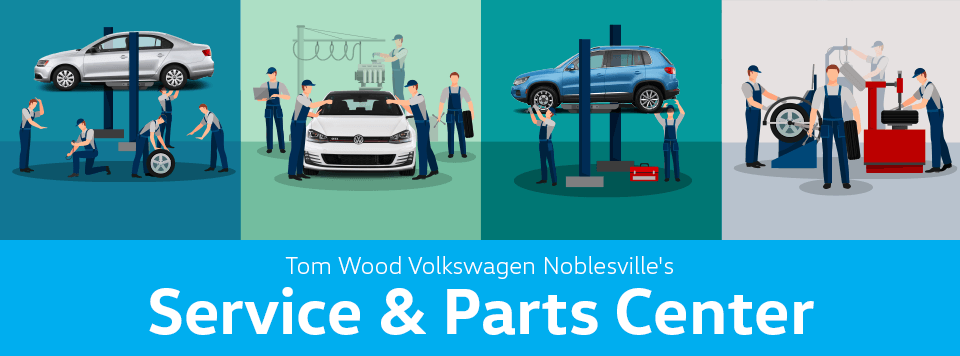 Tom Wood Volkswagen Noblesville's Service & Parts Center