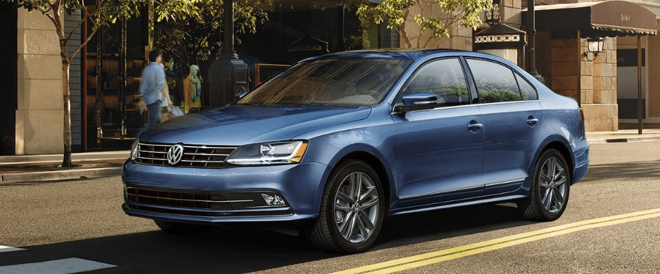 2018 Volkswagen Jetta in blue