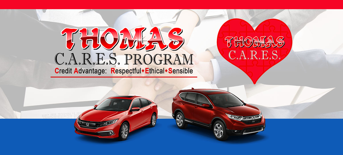 Thomas Team Honda Cares