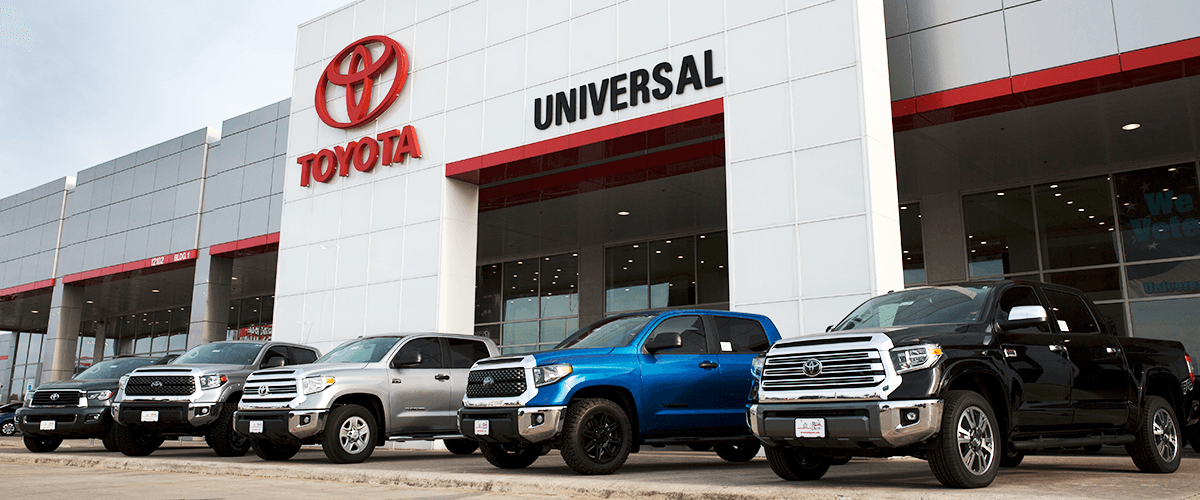 Why Buy From Universal Toyota