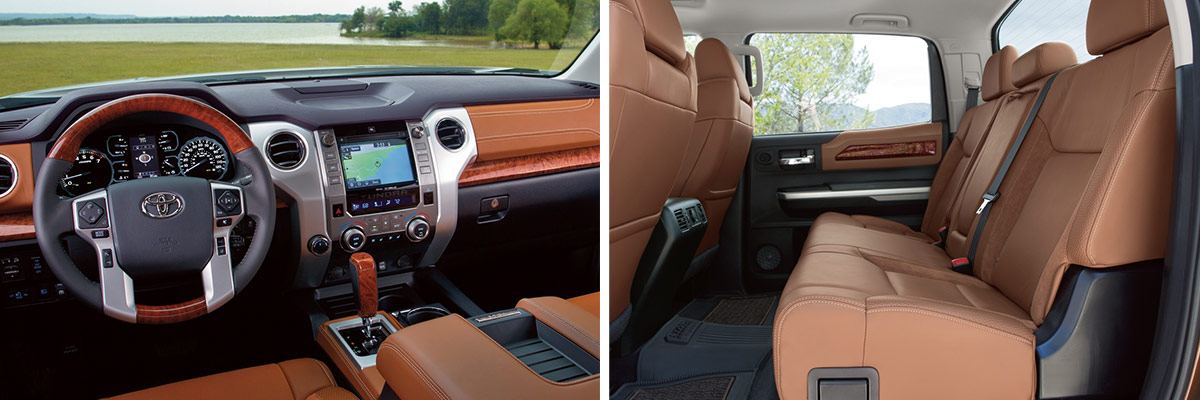 2018 Toyota Tundra Interior & Tech Features