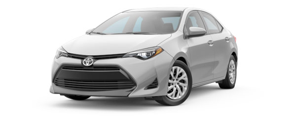 Compare the 2018 Toyota Corolla L CVT 1.8 L