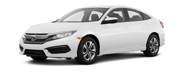 Compare the 2018 Honda Civic LX Manual 2.0 L