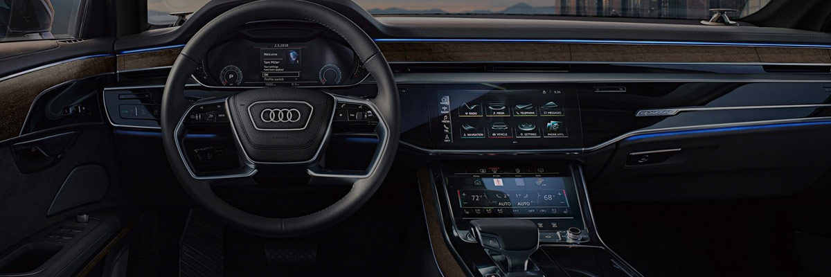 2019 Audi A8 Interior & Technology