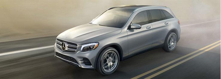 The 2018 Mercedes-Benz GLC SUV