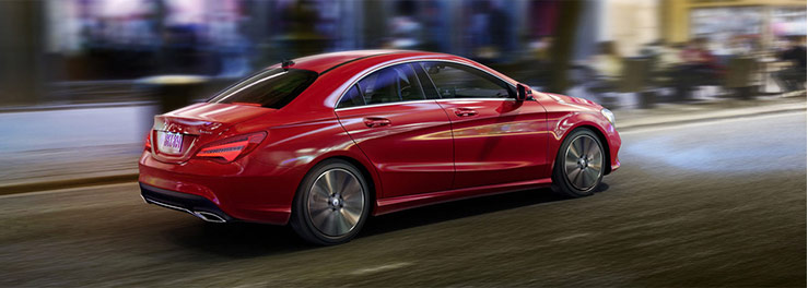 The 2018 Mercedes-Benz CLA