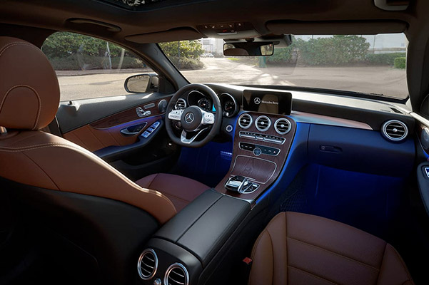 2019 Mercedes-Benz C-Class Interior & Technology