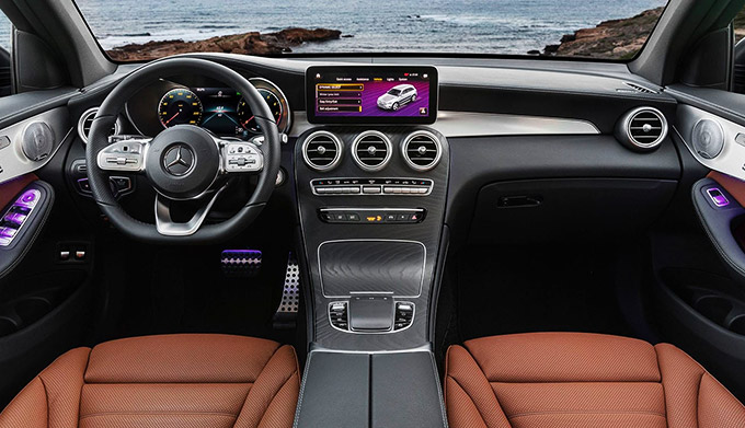 The 2020 GLC SUV