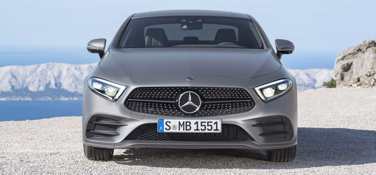 2019 Mercedes-Benz CLS header