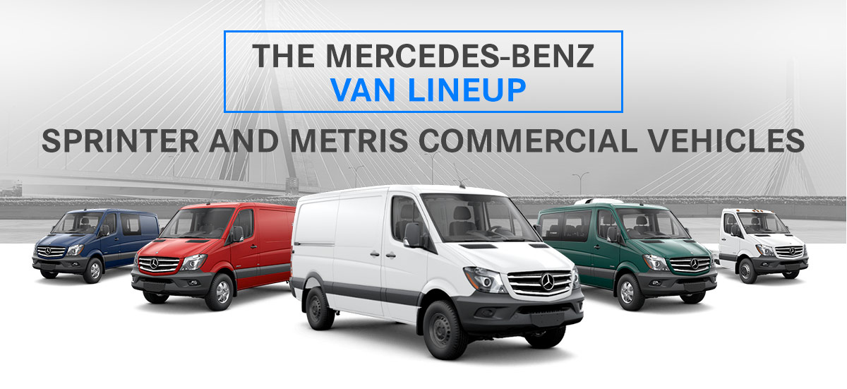The Mercedes-Benz Van Lineup: Sprinter and Metris Commercial Vehicles