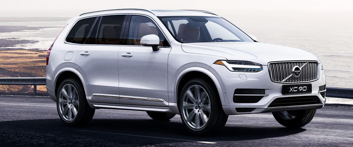 The New 2019 volvo XC90 header