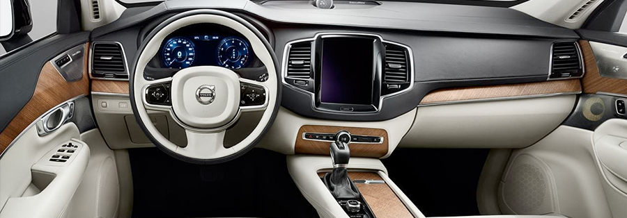 The 2018 Volvo XC90 Interior