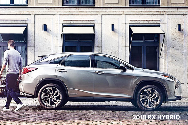 New Lexus Hybrid SUVs