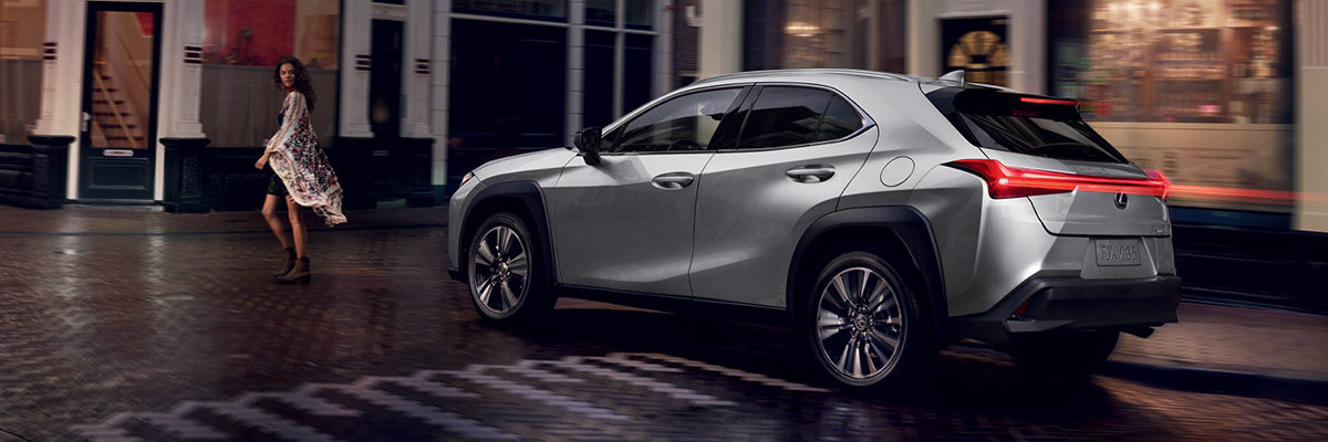 The All New 2019 Lexus UX footer