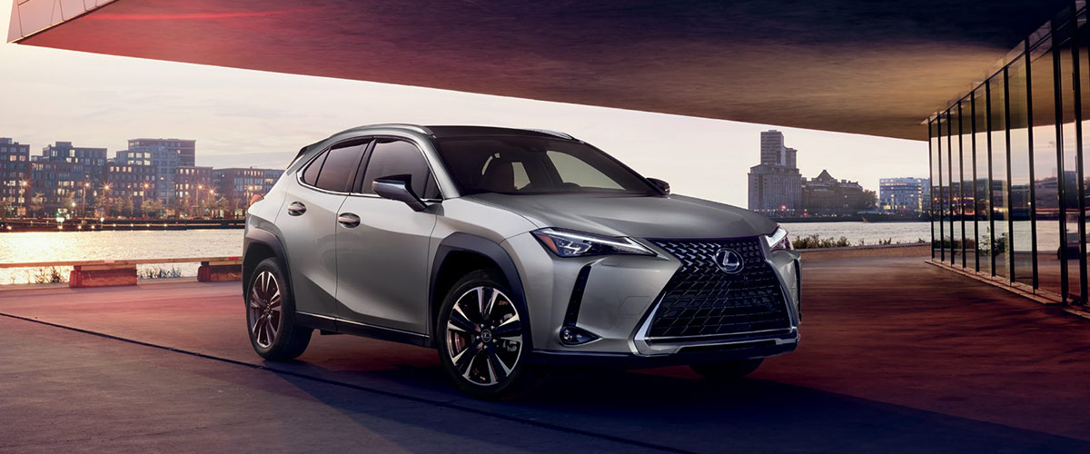 The All New 2019 Lexus UX header