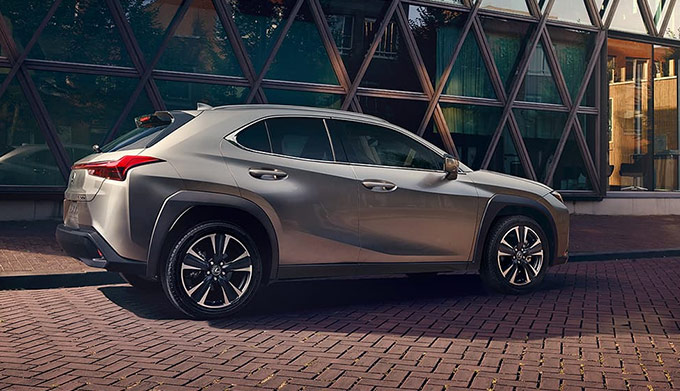 The All New 2019 Lexus UX side view