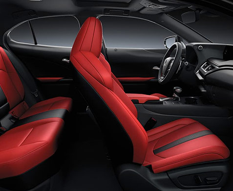 The All New 2019 Lexus UX interior side