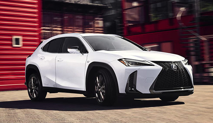The All New 2019 Lexus UX front view
