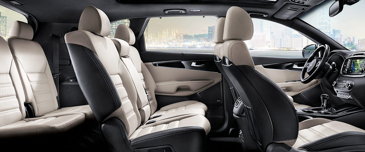 2019 Kia Sorento Interior & Technology Features