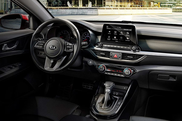2019 Kia Forte Interior & Technology