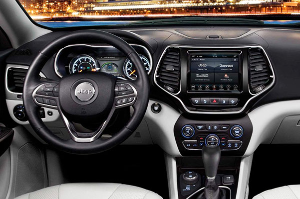 2019 Jeep Cherokee Design and Interior Features