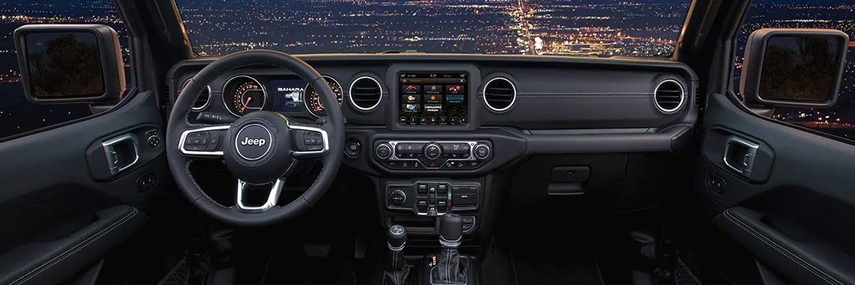 2019 Jeep Wrangler Interior & Technology