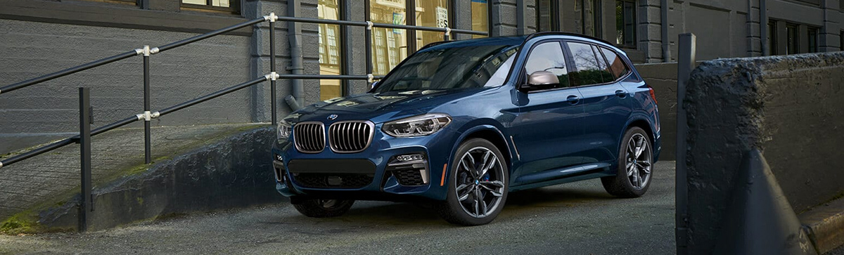 2019 BMW X3  footer