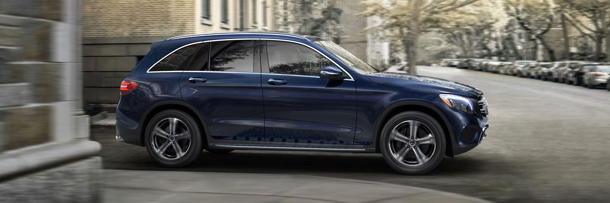 2018 Mercedes-Benz GLC on street