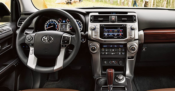 New Toyota 4Runner Cargo Space & Interior Options
