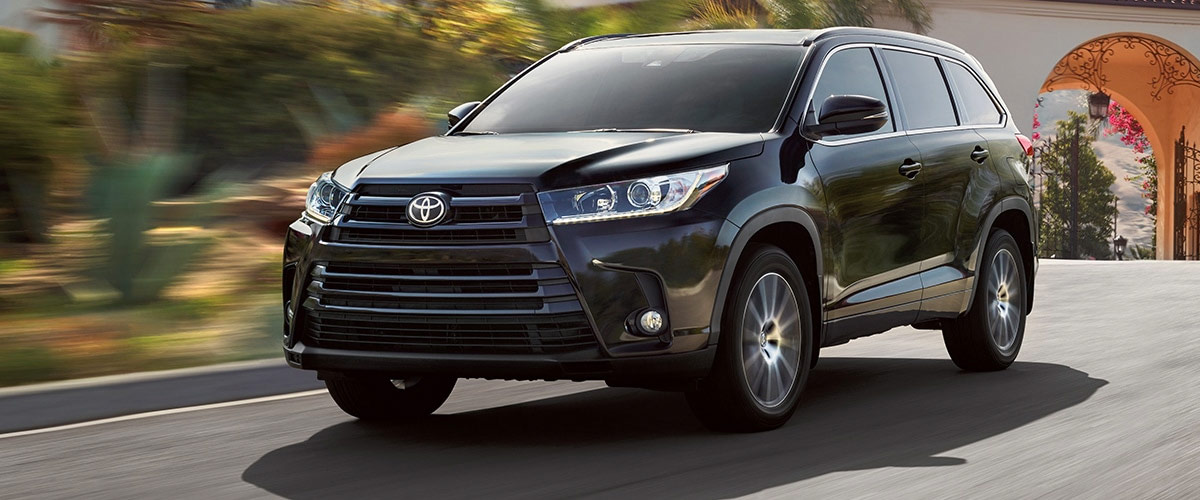 The 2018 Toyota Highlander Header